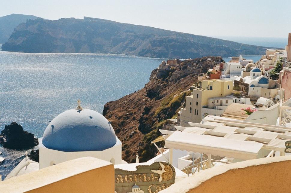 Santorini, Greece | Photo © Rosie Pentreath