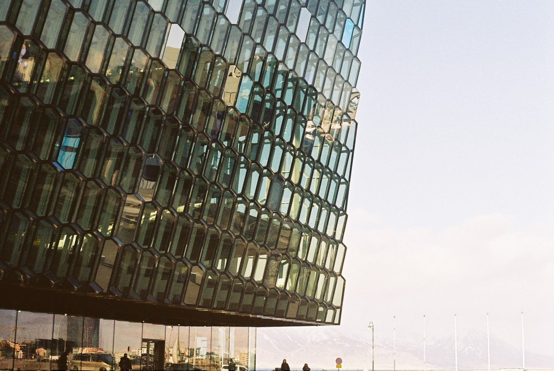 Harpa, Reykjavik Iceland | Photo © Rosie Pentreath