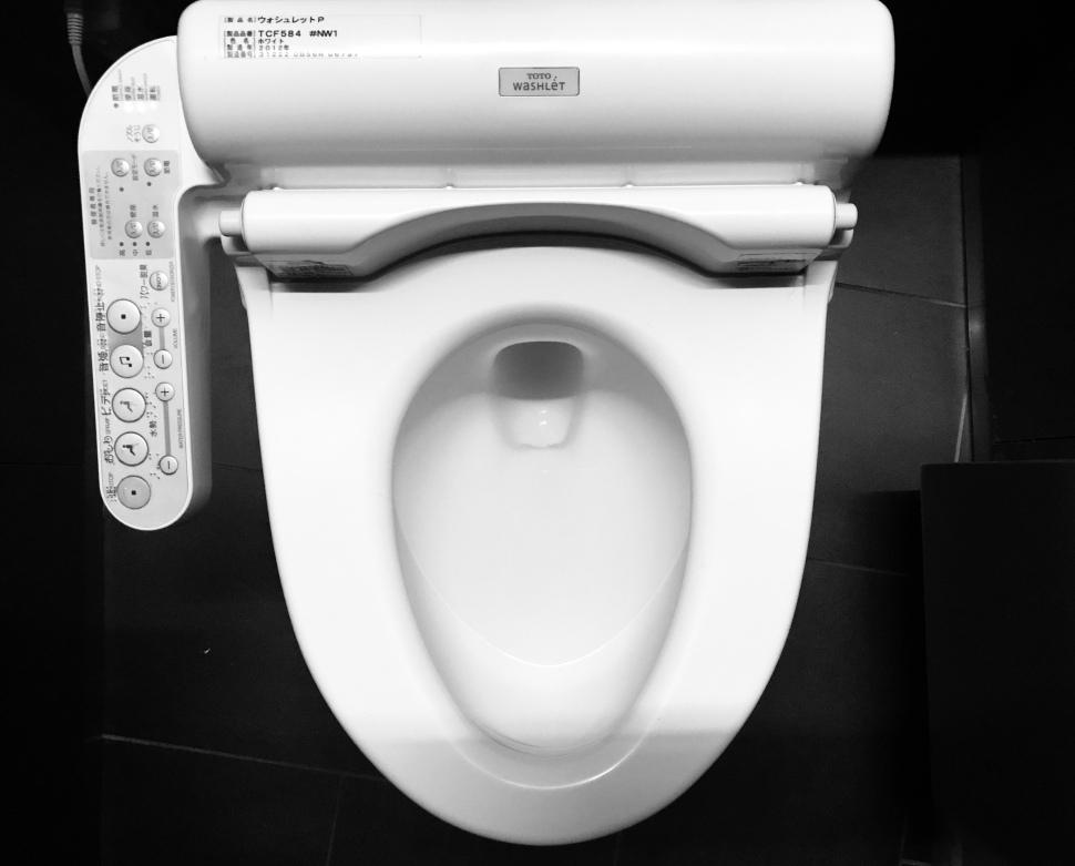Japanese Toilet © Rosie Pentreath