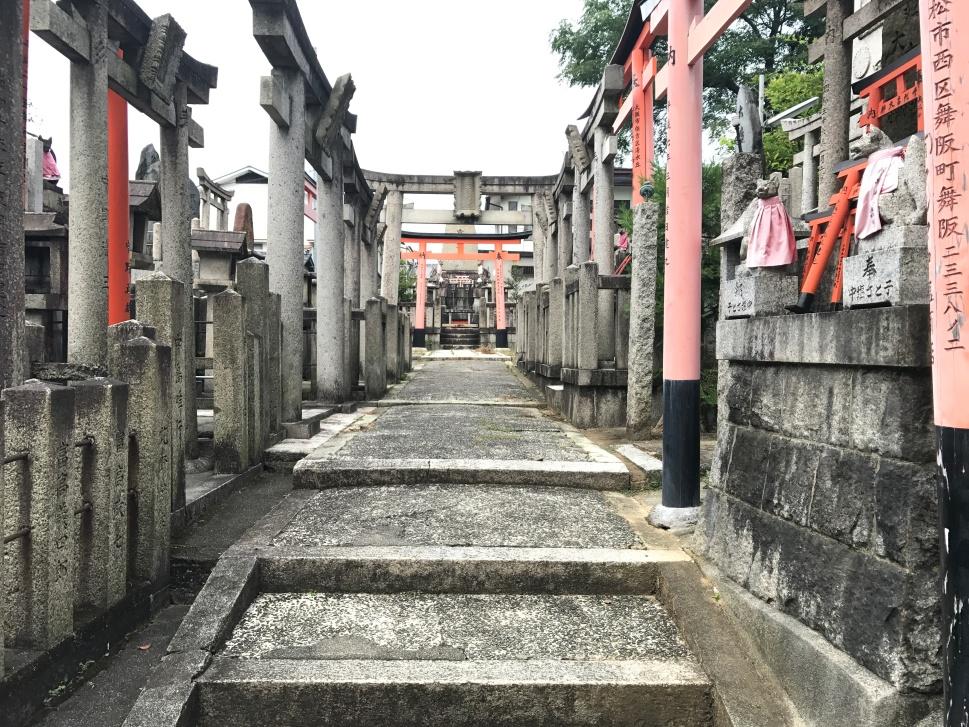 Torii, Fushimi Inari Shrine, Kyoto © Rosie Pentreath