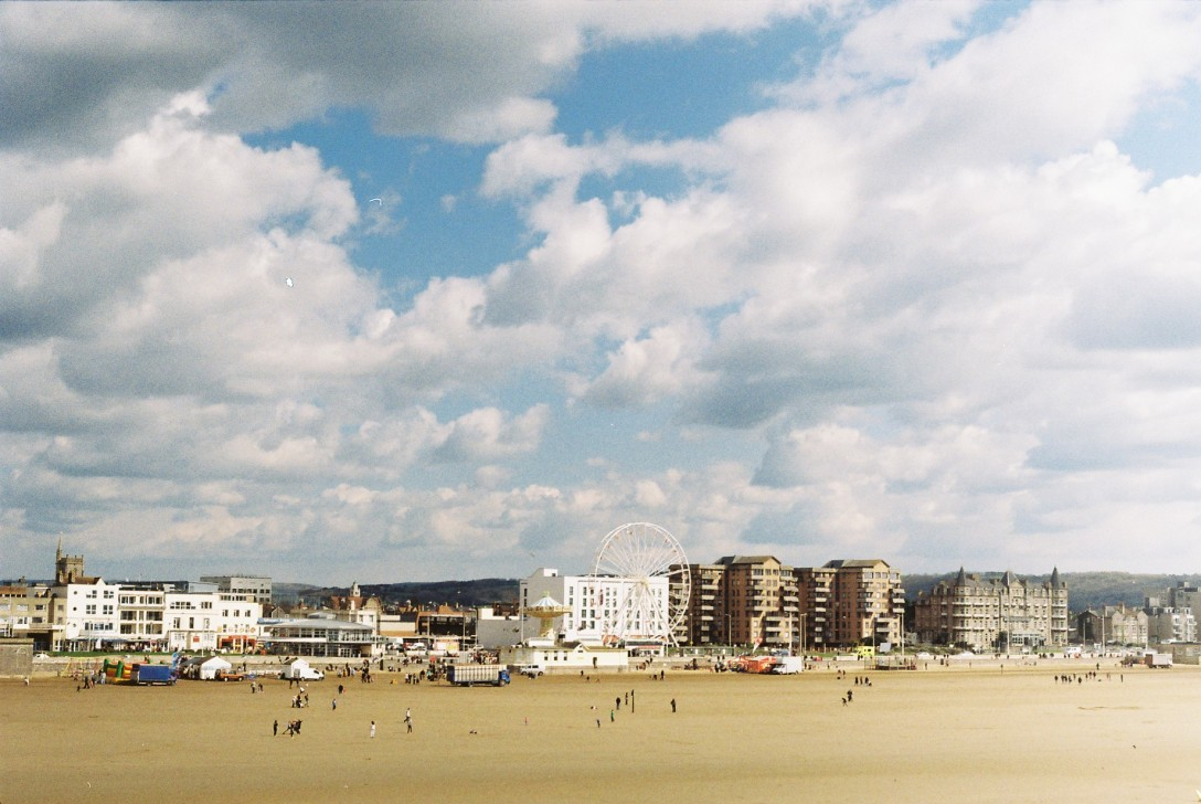 Weston Super Mare, England | Photo © Rosie Pentreath